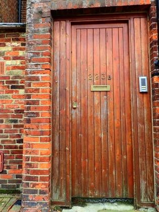 Numbered Door